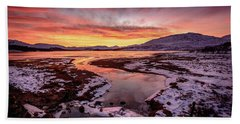 Lochan Na H-achlaise, Twilight Hand Towel