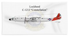 Lockheed C-121j Constellation Bath Towel