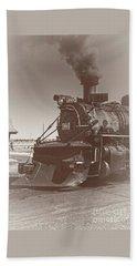 Locomotive 489 Bath Towel