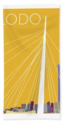 Lodo/gold Bath Towel