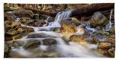 Log Falls On Limekiln Creek Bath Towel