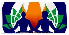 Logo Of Ahonu.com Hand Towel