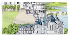Loire Valley Hand Towel