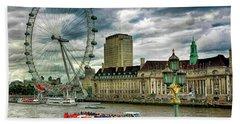 London Eye Hand Towel