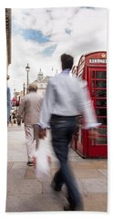 London In Motion Bath Towel
