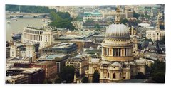 London Rooftops Bath Towel