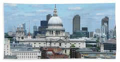 London Skyscrape - St. Paul's Hand Towel