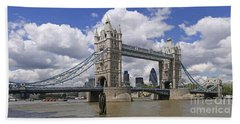 London Towerbridge Bath Towel