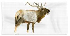Lone Elk Bath Towel