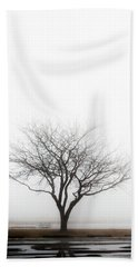 Lone Reflection Hand Towel