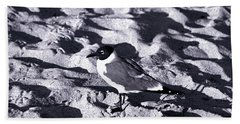 Lone Seagull Hand Towel