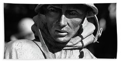 Bath Towel featuring the photograph Lone Soldier  by John S