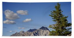 Lone Tree On Sanson Peak Hand Towel by Mary Lee Dereske