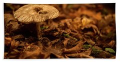 Lonely But Fungi Hand Towel