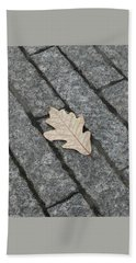 Lonely Leaf Hand Towel