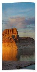 Lonely Rock Bath Towel by David Cote