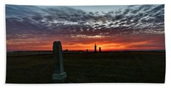 Lonely Sunset Hand Towel