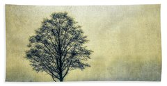Lonely Tree Hand Towel by Marion McCristall