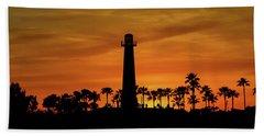 Long Beach Lighthouse Hand Towel