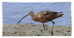 Long-billed Curlew Hand Towel