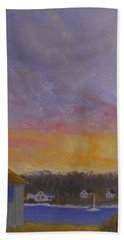 Long Cove Sunrise Bath Towel
