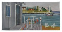 Long Cove View Hand Towel