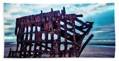 Long Forgotten Shipwreck Hand Towel