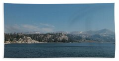 Long Lake Shoshone National Forest Hand Towel