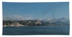 Long Lake Shoshone National Forest Bath Towel