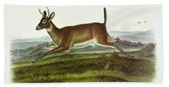 Long-tailed Deer Hand Towel