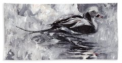 Long-tailed Duck Bath Towel