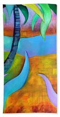 Bath Towel featuring the painting Longboat Key by Elizabeth Fontaine-Barr