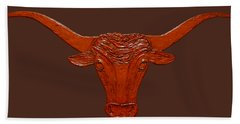 Longhorn 2 Bath Towel
