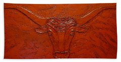 Longhorn Bath Towel