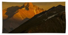 Long's Peak Bath Towel by Gary Lengyel