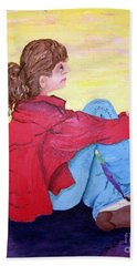 Looking For Hope Hand Towel by Lisa Rose Musselwhite