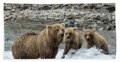Looking For Sockeye Salmon Bath Towel