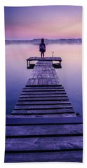 Hand Towel featuring the photograph Looking For The Sirens by Dmytro Korol