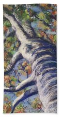 Looking Up - Fall Hand Towel