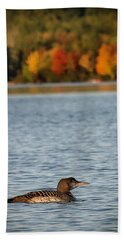 Loon Chick Bath Towel