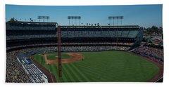 Los Angeles Dodgers Dodgers Stadium Baseball 2063 Bath Towel