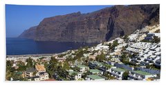 Los Gigantes In Tenerife Bath Towel