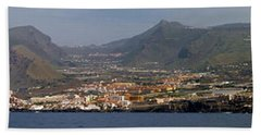 Los Gigantes Panorama 1 Bath Towel