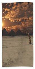 Lost Pyramids Bath Towel