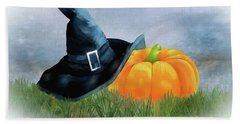 Lost Witches Hat Hand Towel