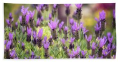 Bath Towel featuring the photograph Lots Of Lavender  by Saija Lehtonen