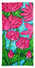 Lotus Bliss Bath Towel