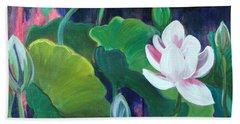 Lotus Garden 1 Bath Towel