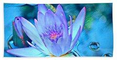 Lotus Heart  Hand Towel