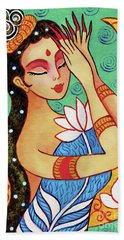 Lotus Meditation Bath Towel